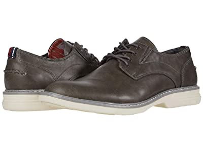 Ben Sherman Countryside Oxford (Dark Grey PU Leather) Men