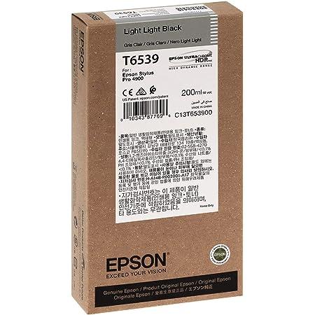 Epson T0599 Tintenpatrone Lilie Singlepack Hell Hell Schwarz Bürobedarf Schreibwaren