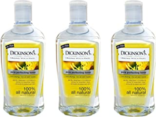 Dickinsons Original Witch Hazel Pore Perfecting Toner 16 fl. oz. (Pack of 3)