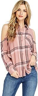cold shoulder flannel