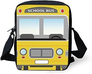 school bus book bag