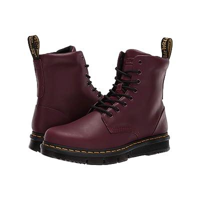 Dr. Martens Lexington CUBEFLEX (Burgundy Sendal/Burgundy Knit 8) Boots