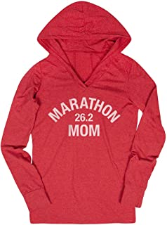 Running Lightweight Performance Hoodie | Marathon 26.2 Mom | Assorted Colors