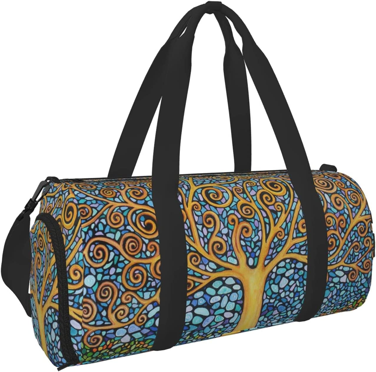 2021 tree of life mosaic art Gym Bag Men for Duffel Women Special sale item and Travel