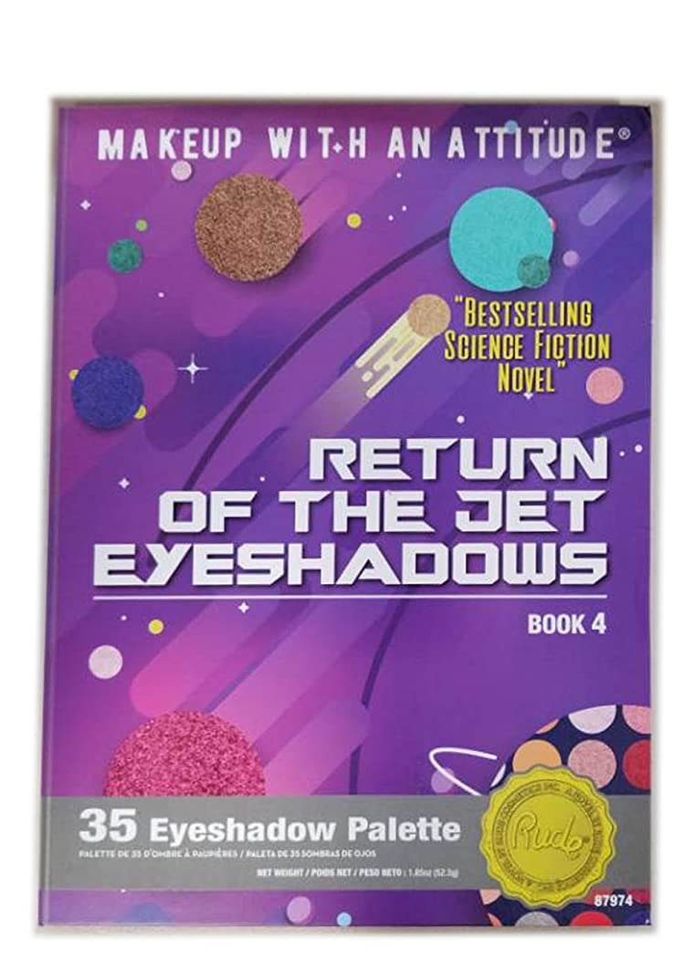 がっかりするパン屋曲線RUDE Return Of The Jet Eyeshadows 35 Eyeshadow Palette - Book 4 (並行輸入品)