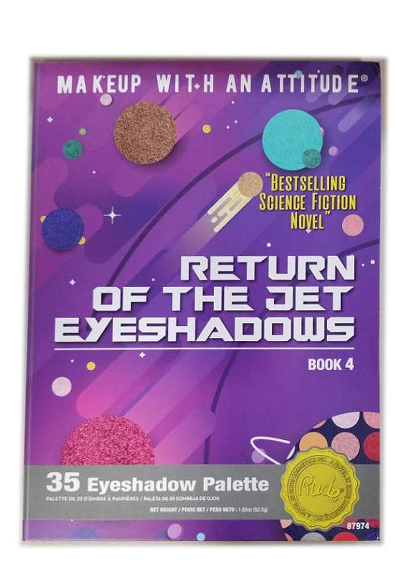 乙女負担生産的RUDE Return Of The Jet Eyeshadows 35 Eyeshadow Palette - Book 4 (並行輸入品)
