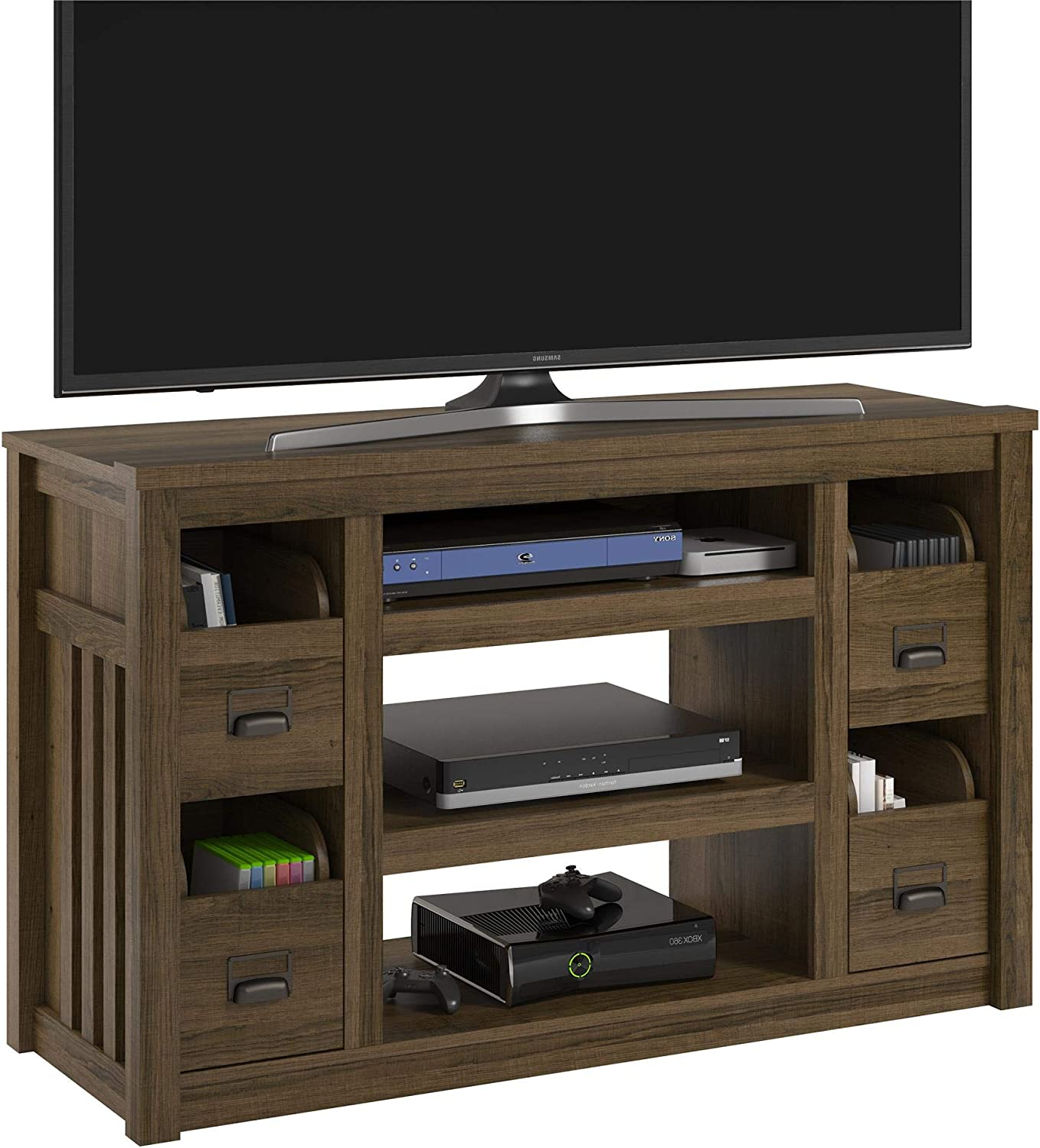 Ameriwood Home Adams TV Stand for TVs up to 55