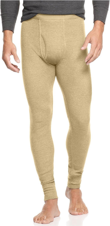 Alfani Underwear, Waffle Knit Thermal Pants