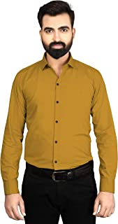 Sebon Slim fit Cotton Formal Shirts for Mens Full Sleeves