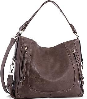 Handbags for Women,UTAKE Women's Shoulder Bags PU Leather Hobo Handbags Top-Handle Purse For Ladies