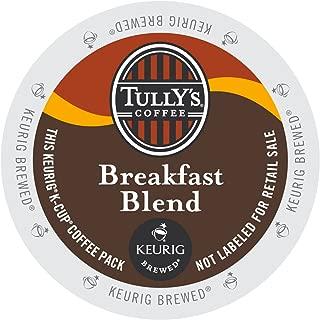 Tully's Coffee Breakfast Blend, Keurig K-Cups, 72 Count