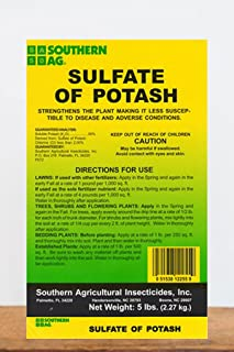 Root 98 Warehouse Southern Ag Sulfate of Potash 0-0-50, 5 LB