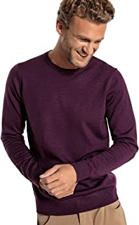 La Redoute Collections Mens Pure Merino Wool Crew Neck Jumper/Sweater