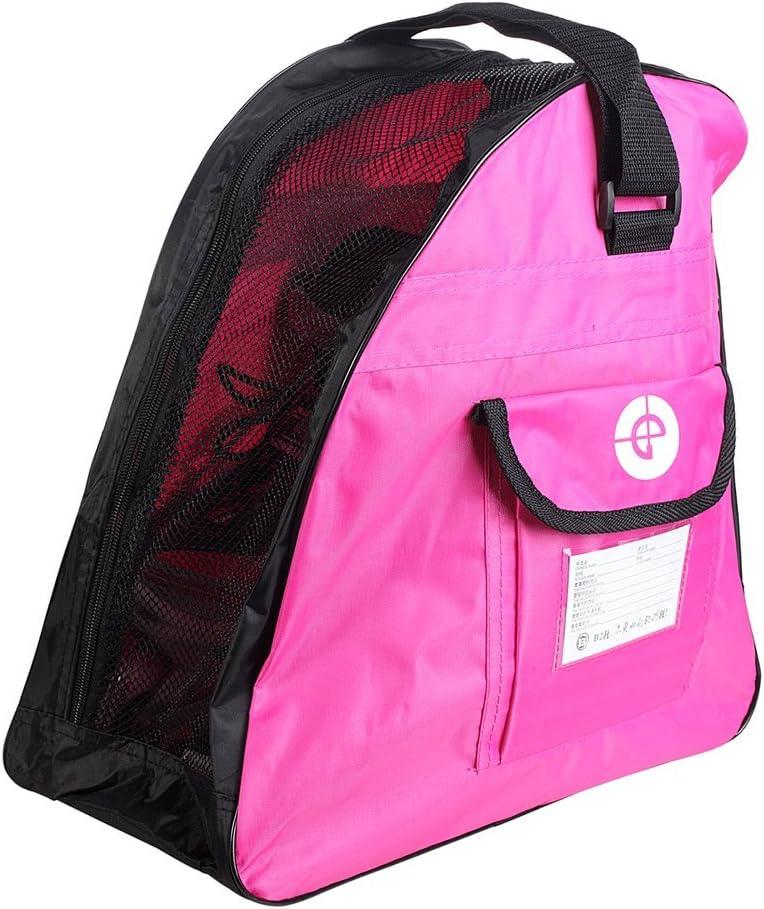 Yueku Schlittschuh-Tasche Premium Tasche zum Tragen von Schlittschuhen Inlineskates f/ür Kinder und Erwachsene Rollschuhen