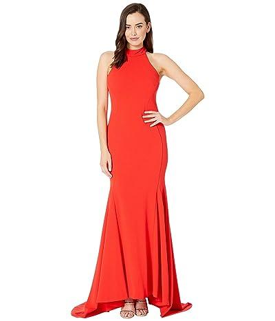 Calvin Klein Solid Gown (Tango) Women