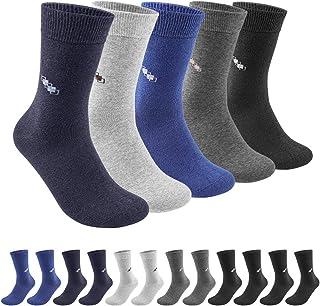 QINCAO Chaussettes en Coton pour Homme et Femme, Lot de 12 Paires de Chaussettes de Sport Homme Respirantes Confortables C...