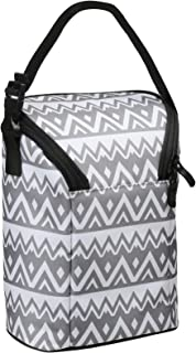 Baby Double Bottle Cooler Insulated Bag Keeps Baby Bottles Warm or Cold for Travel Fits 2 Bottles