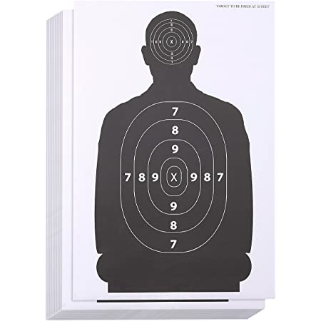 DISCOUNTED 14cm Card paper 1000 PRACTICE ZEROING Targets Fr Air Rifle//Airsoft