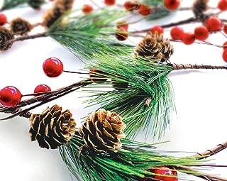 Best winter evergreen garland Reviews