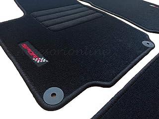Alfombrillas Alfombras a medida SEAT LEON 3 2012-Presente VELOUR NEGRO