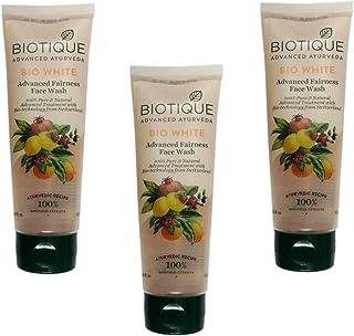 Biotique 3 Bio White Advanced Fairness Face Wash, 100 ml
