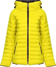 Cima Mode Women Ladies Plus Size Puffa Padded Light Quilted Jacket Size 12-26