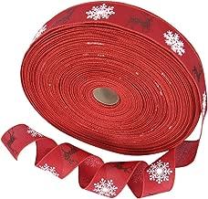 Christmas Ribbons Wrapping Decoration Hair Bow DIY Gift Wrap, 2M Long