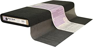 Therm O Web Heat`n Bond Q2433 Tricot Fusible - Sheer Weight Black 20`` x 25 yard per bolt Fabric by the Yard