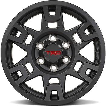 Genuine Toyota 4Runner TRD PRO Matte Black Wheels PTR20-35110-BK (Fits: 4Runner - Tacoma - FJ Cruiser) (1)