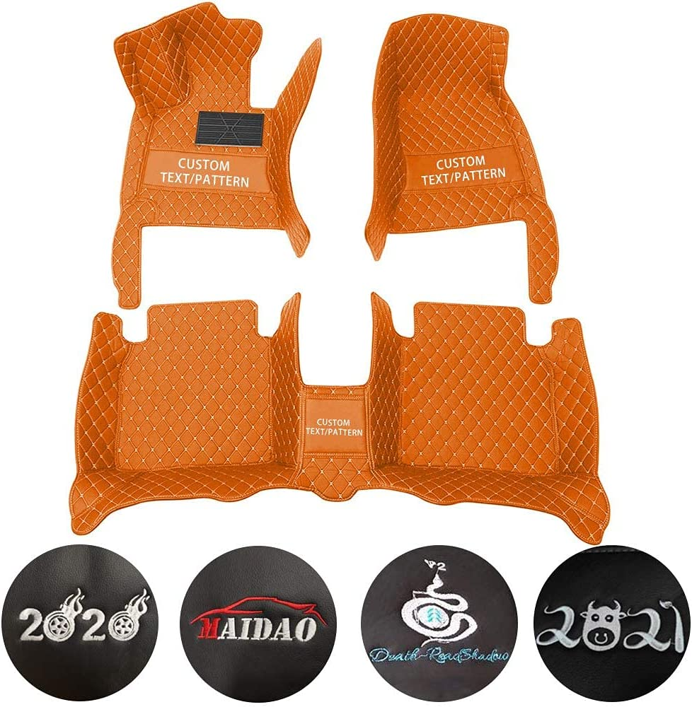 Maidao car Floor Mats fit for 35% OFF Co Max 78% OFF 2006-2017 SsangYong Full Actyon