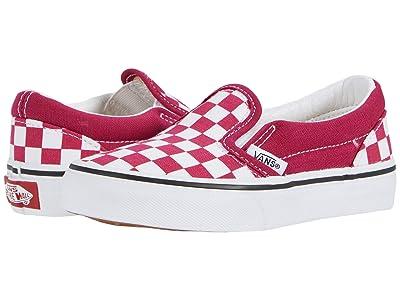 Vans Kids Classic Slip-On (Little Kid) ( Girls Shoes