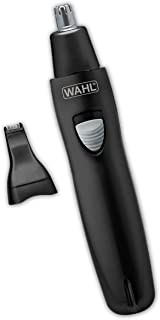 Wahl Deluxe Rechargeable 6-in-1 Detailer with 2 Attachment Heads for Ears, Nose, Eyebrows - Model 9865-333