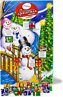 Madelaine Chocolates 2019 Christmas By The Creek Countdown Advent Calendar, Filled With (8 oz - 226 g) Solid Premium Milk Chocolate Presents (1 Pack)