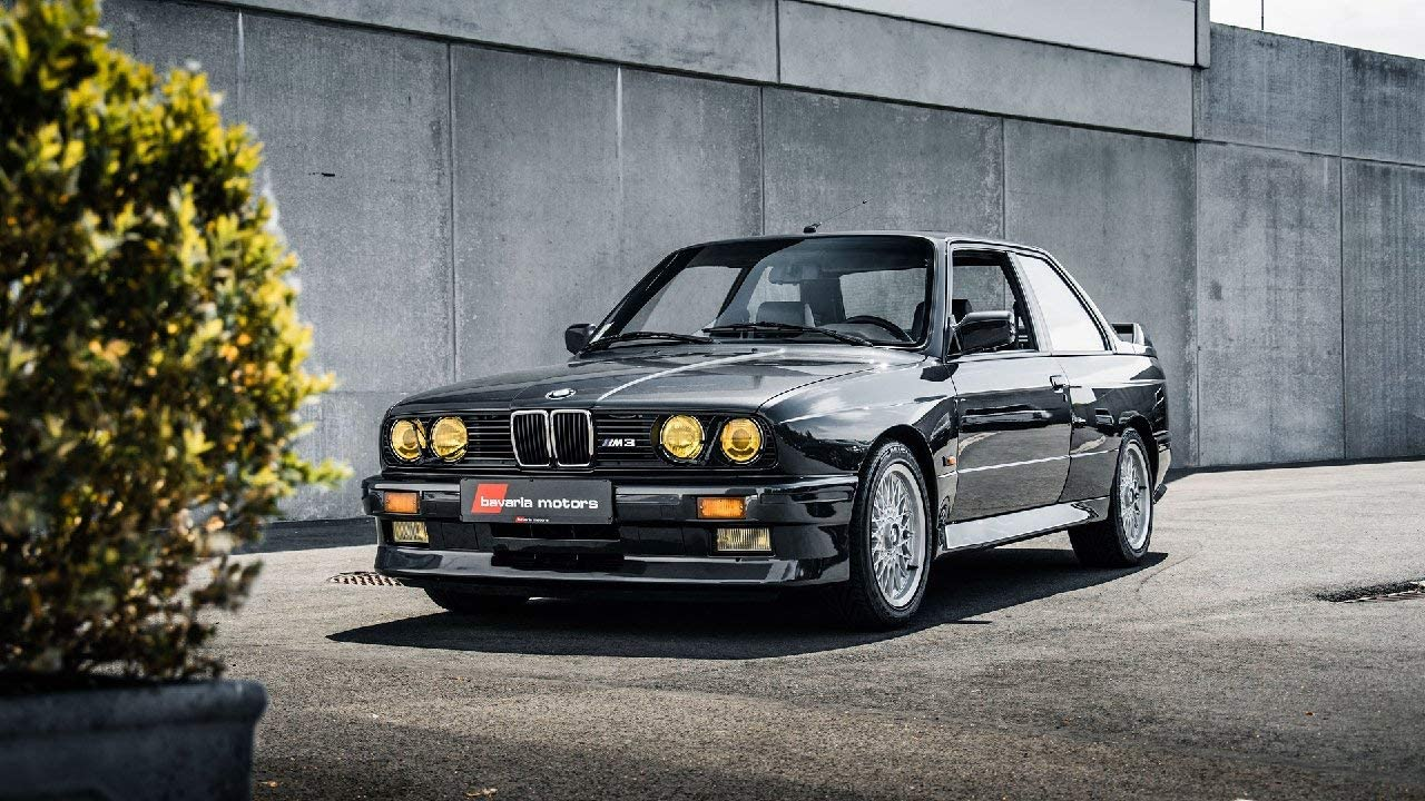Lilarama USA Challenge the lowest price of Japan 1987-BMW-E30-M3-V18- - Classic Super Max 89% OFF Poster Car