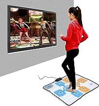 Dancing Mat, 90 82cm Double Person Foam Non-Slip Dance Pad for Nintendo Wii Console Game, Soft, Durable, Comfortable, Plug... photo