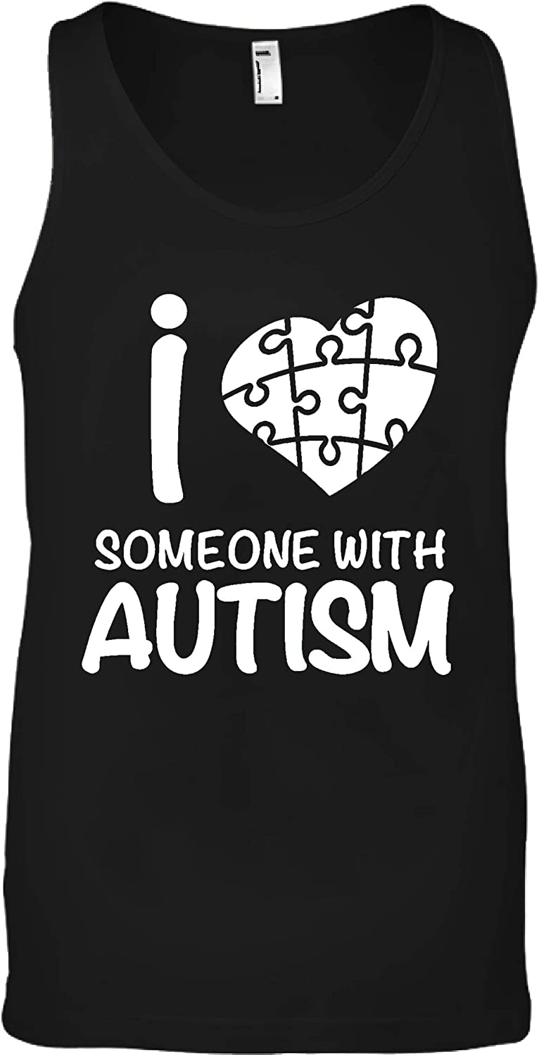 I Love Someone with Autism Shirt Men's Awareness T List price High quality new
