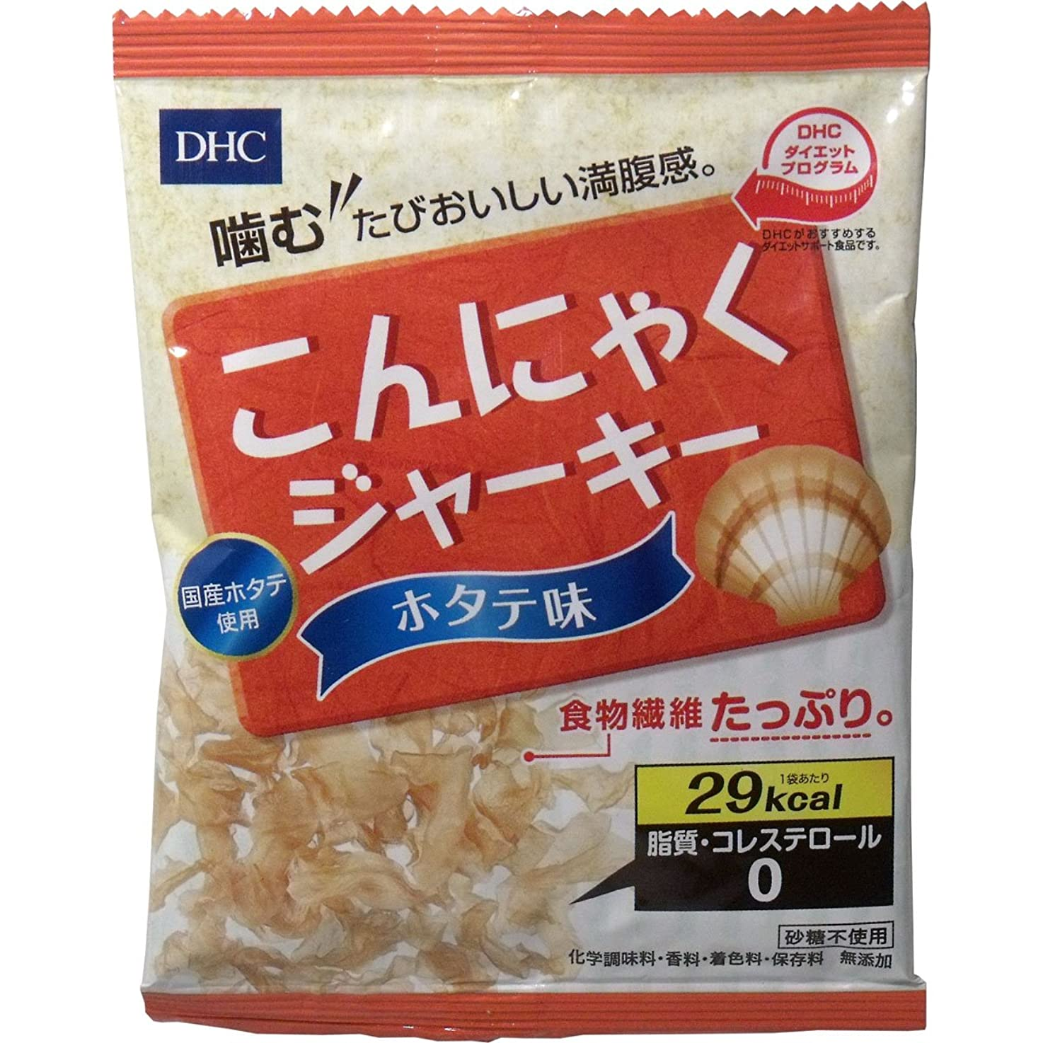 中性ジェットガイドラインDHCこんにゃくジャーキー ホタテ味 [ヘルスケア&ケア用品]