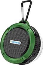 Outdoor Waterproof Bluetooth Speaker, VicTsing Mini Shower Speaker with Loud Stereo Sound ,Suction Cup and Hook, Portable Bluetooth Speaker Suitable for Travel, Beach,Pool,Sport, Climbing