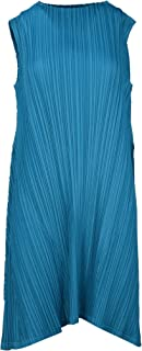 PLEATS PLEASE ISSEY MIYAKE Luxury Fashion Womens PP06JT59374 Blue Dress | Spring Summer 20