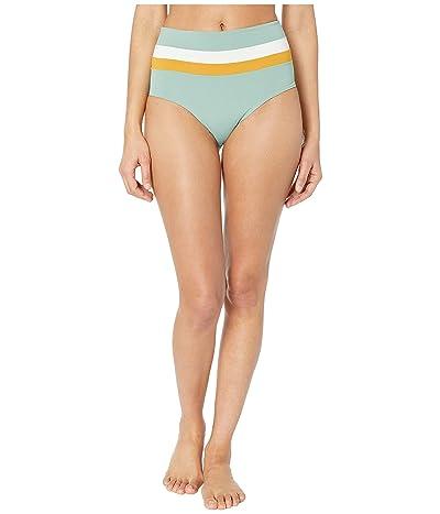 L*Space Color Block Rebel Stripe Portia Bottom (Cream/Bronze/Reef) Women