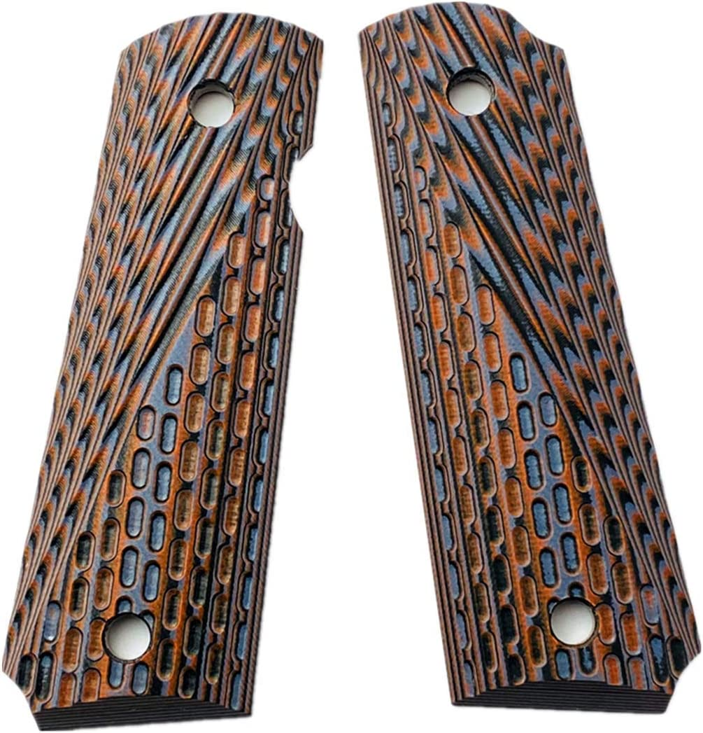 Aibote Save money G10 Full Size 1911 Gun Handles Material fit supreme DIY Grips EDC