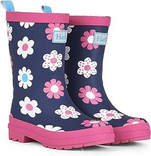 Hatley Girls' Spring Flowers Matte Rain Boots