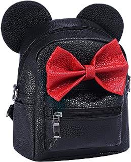Ragazze Mickey Minnie Zaino Donna Mini Borsa da viaggio Zaino Sportive Cartella Bambina Classic Piccola l'uso quotidiano S...
