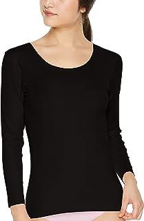 [グンゼ] インナーシャツ キレイラボ 完全無縫製 なめらかにフィット 綿混 8分袖 KL1846R レディース