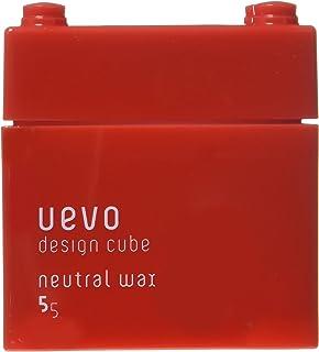 ウェーボ デザインキューブ (uevo design cube) ニュートラルワックス 80g ヘアワックス 80グラム (x 80)