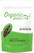 Organic Whole Unhulled Buckwheat NON-GMO 3lb
