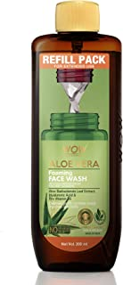 WOW Skin Science Aloe Vera Foaming Face Wash Refill Pack - for Cleansing & hydrating - For Extended Use - No Parabens, Sul...