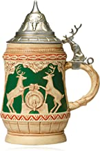 Hallmark Keepsake Ornament: Bavarian-inspired Beer Stein with Reindeer Crest