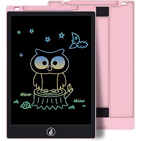 Sunany Tavoletta Grafica LCD Scrittura 11 Pollici Colorato,Tavoletta LCD,Lavagna da Disegno Portatile Digitale con Pulsante Elimina, Regali per Bambini e Adulti (Rosa)