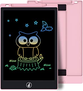 LCD Writing Tablet, Electronic Colorful Screen Drawing Board Kids Tablets Doodle Board Writing Pad for Kids at Home, Schoo...